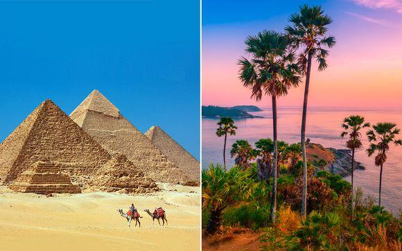 Egipto El Cairo - El Cairo, Bangkok y Phuket en 4* y 5* desde 1.299,00 €