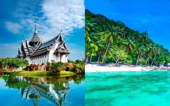 Combinado 5* Well Hotel Sukhumvit y Crowne Plaza Phuket