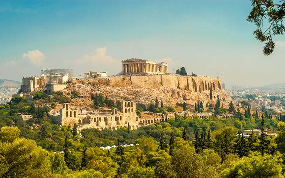 Céntrica ubicación en la capital helena