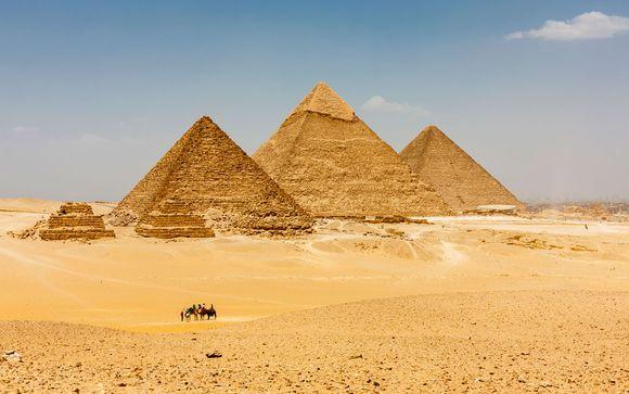 Tierra de Faraones con Mena House 5*