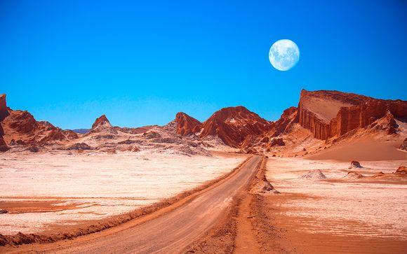 Chile, El Valle de La Luna