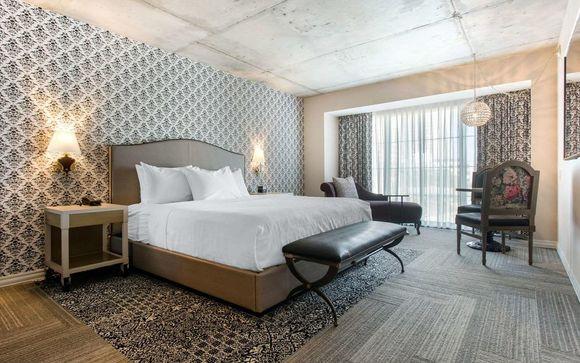 Poussez les portes de l'hôtel Cambria Hotel New Orleans 4*