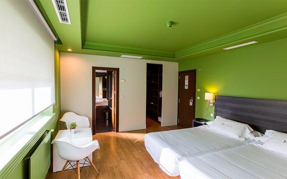 Poussez les portes de l'hôtel  Rio Bidasoa 4*