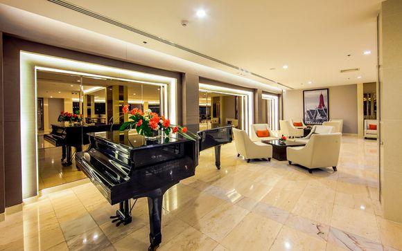 Poussez les portes de l'hôtel Hôtel Mandarin 4* à Bangkok si vous avez choisi l'offre 2