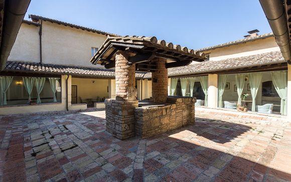 Poussez les portes de l'hôtel Abbazia Collemedio 4*