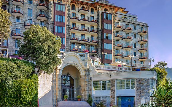 Poussez les portes de l'Excelsior Palace Hotel 5*