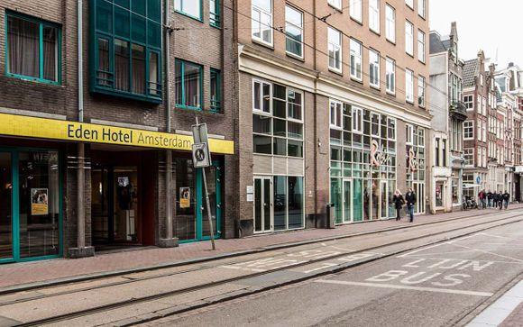 Poussez les portes de l'hôtel Eden Amsterdam 4* à Amsterdam