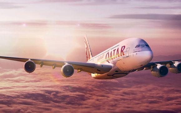 Mettez une option sur le luxe de la classe Affaires avec Qatar Airways