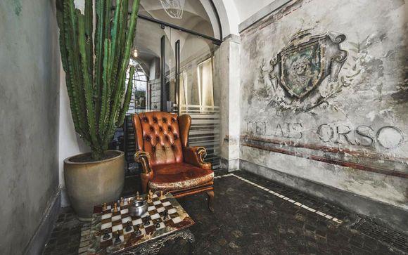 Ambiance loft dans la capitale italienne
