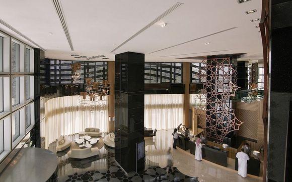 Votre extension à l'Hôtel Pearl Rotana Capital Center 4* à Abu Dhabi