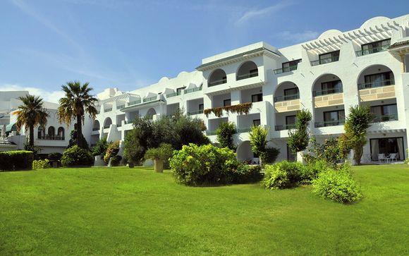 Poussez les portes de l'hôtel Hasdrubal Thalassa & Spa Port El Kantaoui 4*