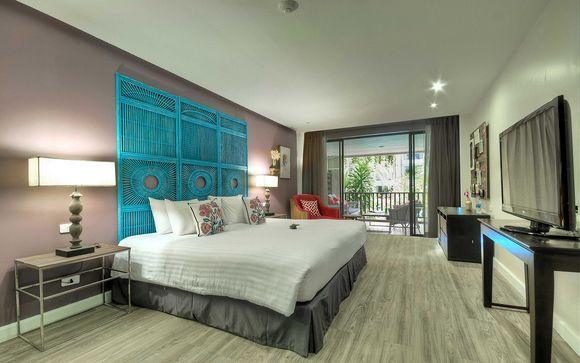 Poussez les portes de l'hôtel Burasari à Phuket