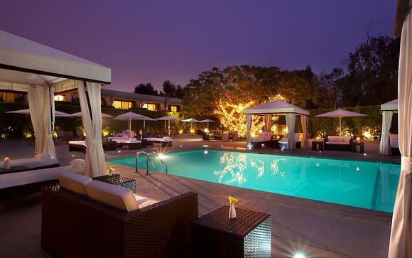 Poussez les portes de l'hôtel 4* Luxe Sunset Boulevard