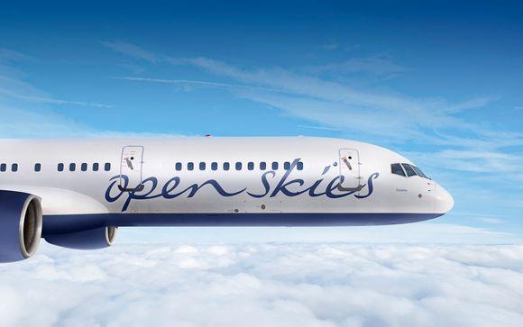 Offrez-vous le luxe de la classe Affaires avec Open Skies