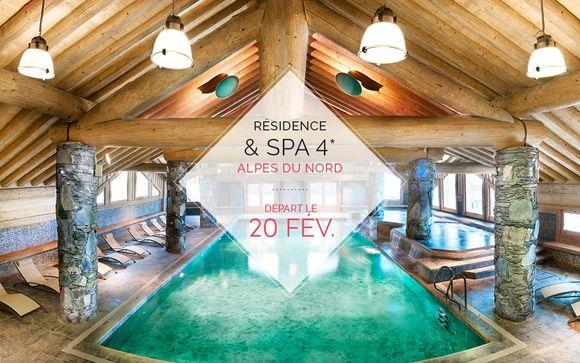 Résidence & Spa 4* dans les Alpes du Nord