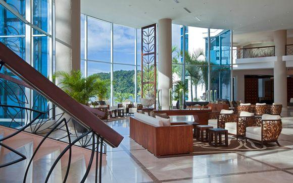 Poussez les portes de l'hôtel Westin Playa Bonita