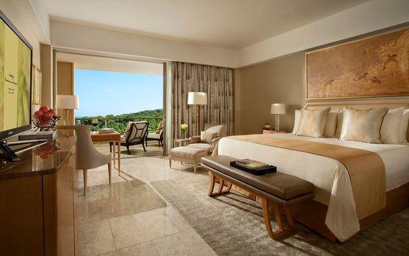 Pour les portes de l'hôtel Mulia Resort 5*