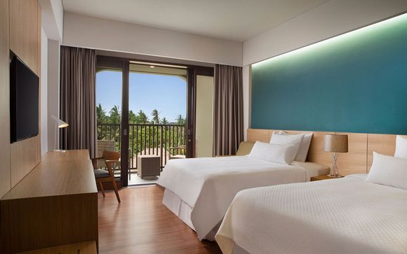 Poussez les portes de l'hôtel Element by Westin 4* à Ubud