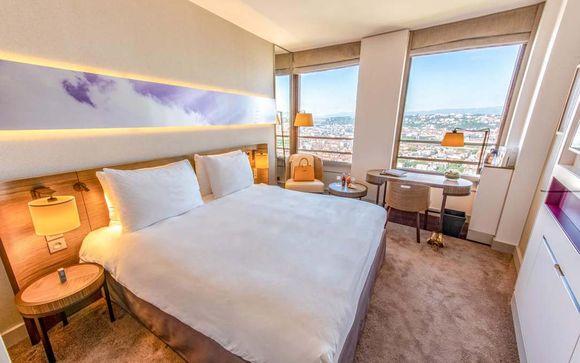 Hôtel haut de gamme à Lyon avec chambre tout confort et vue panoramique sur la ville