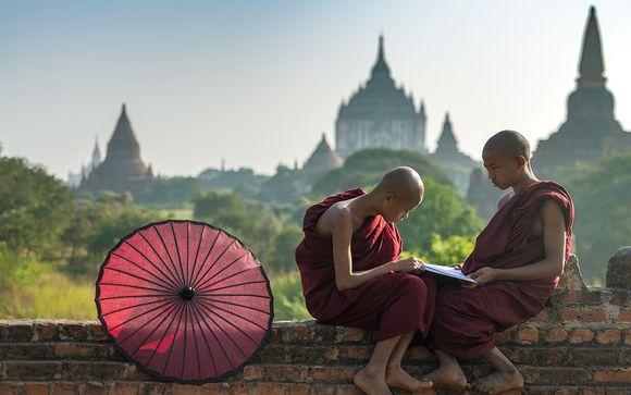 Circuit privatif Découverte du Myanmar et extension possible