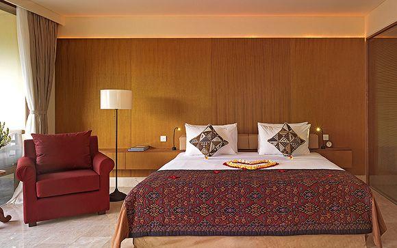 Poussez les portes de l'hôtel Komaneka At Rasa Sayang Ubud 4*