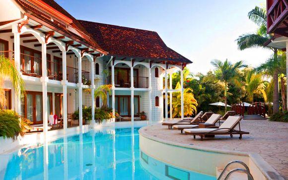 Hôtel Le Saint Alexis 4* et extension possible à Madagascar
