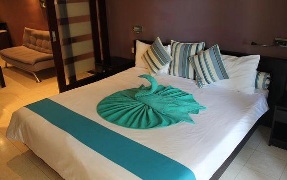 Poussez les portes de l'hôtel Grand Baie Suite 4*