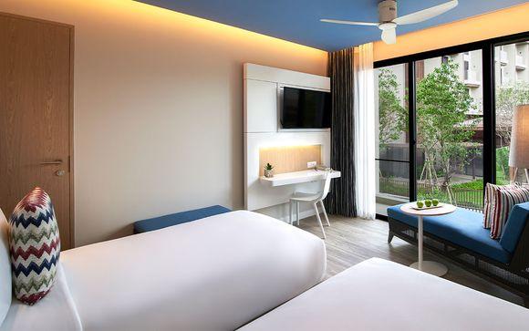 Poussez les portes de l'hôtel  Ozo Phuket 4*