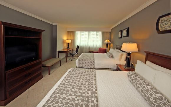 Poussez les portes de l'hôtel Crowne Plaza 4* à Panama City