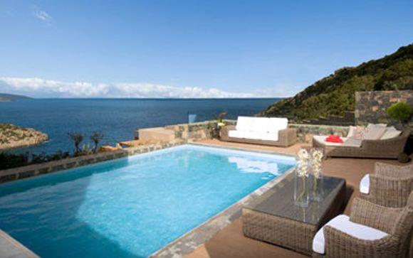 h tel gran meli resort luxury villas daios cove agios nikolaos cr te. Black Bedroom Furniture Sets. Home Design Ideas