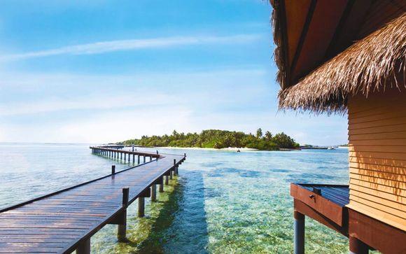 Votre extension balnéaire à l'hôtel Adaaran Select Hudhuranfushi Resort 4*