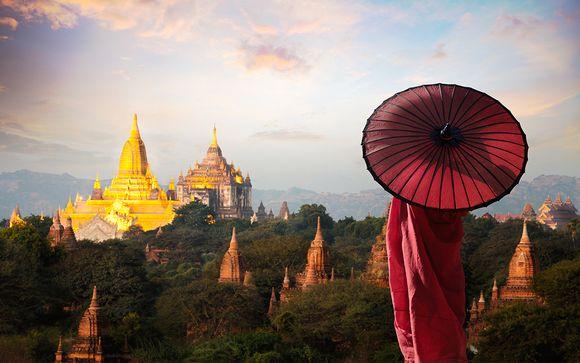 Circuit avec chauffeur Premiers Pas au Myanmar