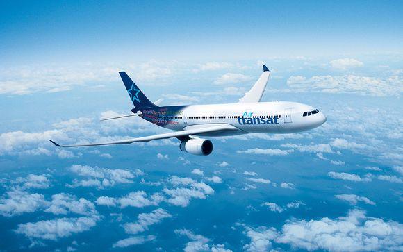 Envolez-vous avec la compagnie aérienne Air Transat