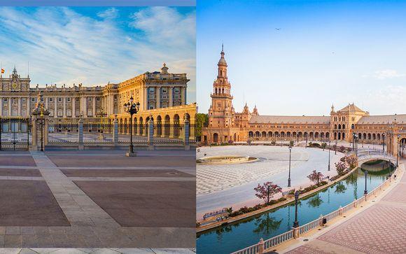 Combiné H10 Puerta de Alcala et Barcelo Sevilla Renacimiento 4&5*