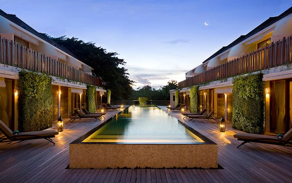 Combiné Hôtels Kupu Kupu Jungle Retreat Ubud 4* & Jimbaran 5*