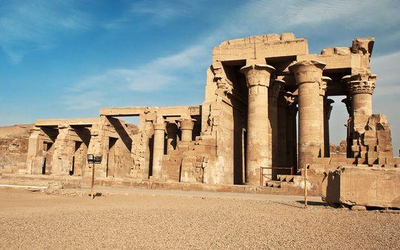 Vos excursions en option à régler sur place (150 € le pack de 7 excursions à titre indicatif) pour la croisière au Rêverie du Nil et incluses pour la croisière Passion du Nil :