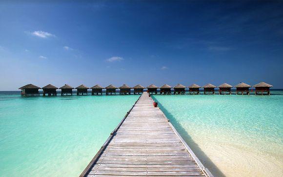 Hôtel Filitheyo Island Resort 4* et escale à Dubai