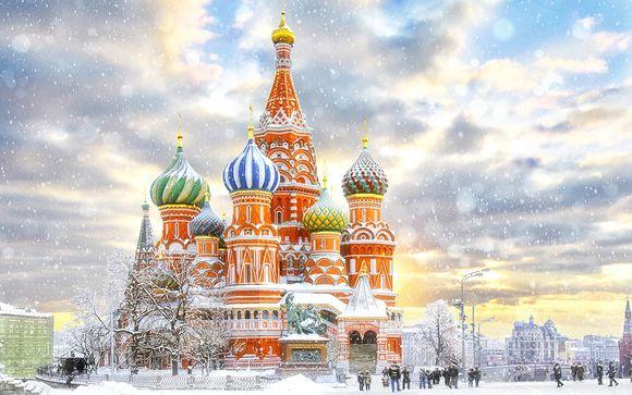 Circuit Moscou - Saint-Petersbourg en 4* ou 5*