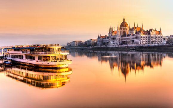 De la ville dorée à La perle du Danube en 4*