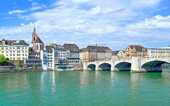 Suisse Bâle - Hôtel The Passage 4* à partir de 59,00 € (59.00 EUR€)