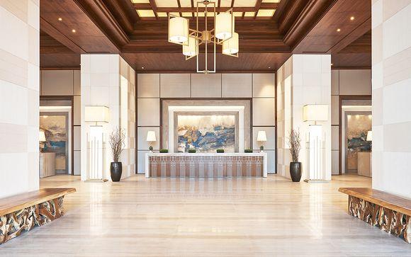Poussez les portes de l'hôtel Westin Dubai Al Habtoor City 5*