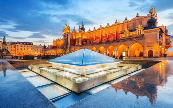 Pologne Cracovie - Hôtel Galaxy 4* à partir de 238,00 € (238.00 EUR€)