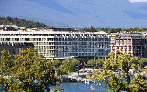 Poussez les portes de votre Grand Hotel Kempinski Geneva 5*