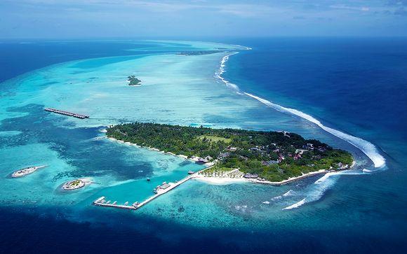 Votre séjour balnéaire à l'hôtel Adaaran Select Hudhuranfushi 4*: