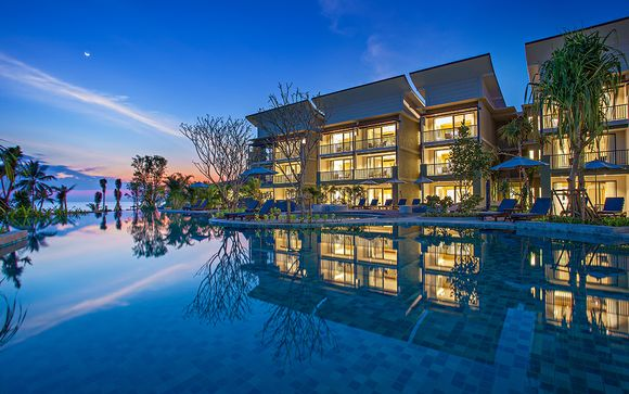 Bangsak Merlin Resort 5* et séjour possible à Krabi