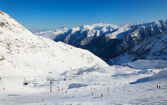 Ski et bien-être face au massif de Vignemale