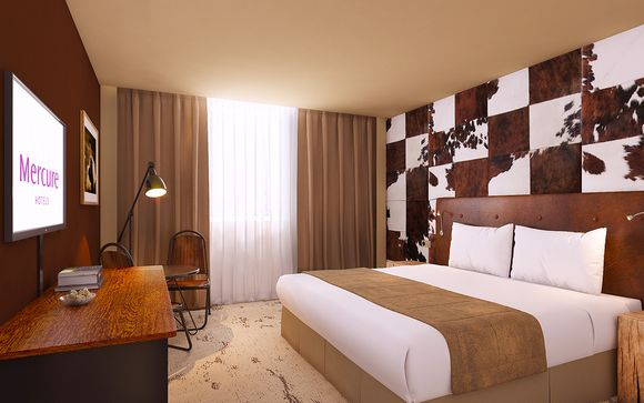 Poussez les portes de l'Hôtel Mercure Chamonix les Bossons 4*