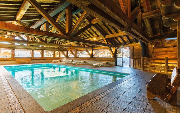 Etablissement de standing avec piscine