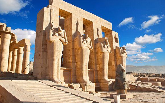 Départ immédiat sur les traces des Pharaons