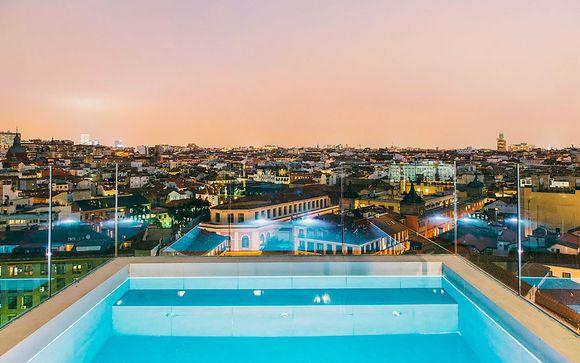 Design et vue panoramique sur le centre-ville